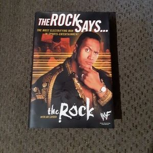The Rock Says......    The Rock Book